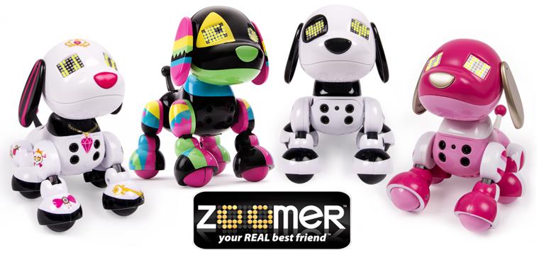 Coccoloni e interattivi adotta un cagnolino robot zoomer